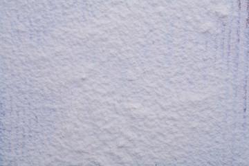 texture of white natural flour