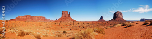 Leinwanddruck Bild Monument Valley, Arizona
