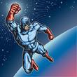 Blue Mask Hero 1