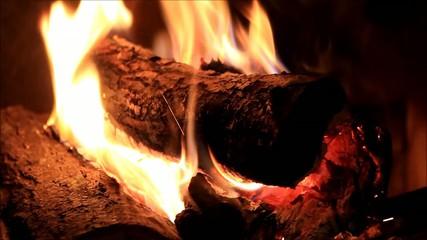 Kaminfeuer, Energie, gemütlich, Wärme