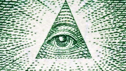 US Dollar Bill Eye of Providence
