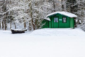 Hütte in Born