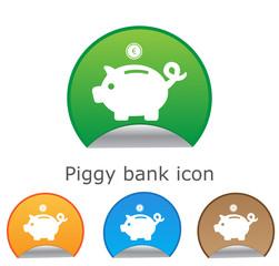 Piggy bank - saving money. for website or app