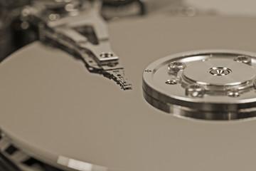 Festplatte / Lesekopf