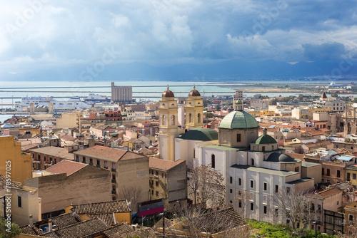 Aluminium Sardegna, Cagliari, quartiere di Stampace e porto