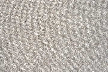 Beige nylon carpet, uncut level loops