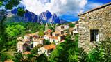 stunning mountain villages of Corsica - Evisa - 78597665