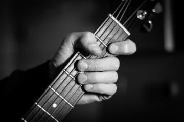 Mano del chitarrista
