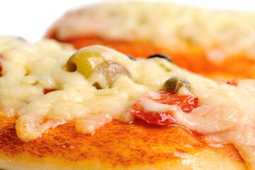 Pizza con Mozzarella Filante