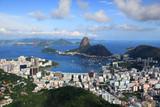 Fototapety Scenic landscape of Rio De Janeiro city