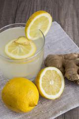 Lemon and Ginger Detox Drink