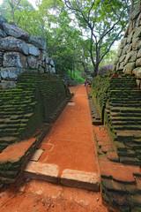 old wall in Sigiriya Castle