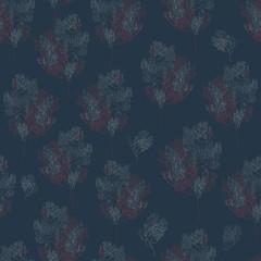branch seamless pattern