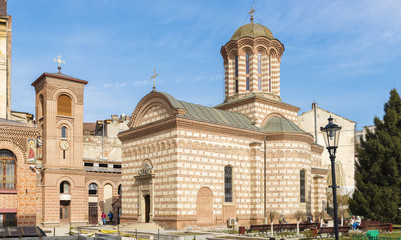 The Old Court Church in Bucharest