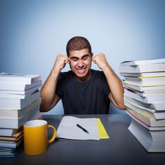Hard life of student