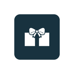 gift icon Rounded squares button.