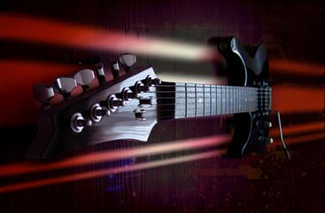 E-Gitarre Konzert Rock Hintergrund Grafik