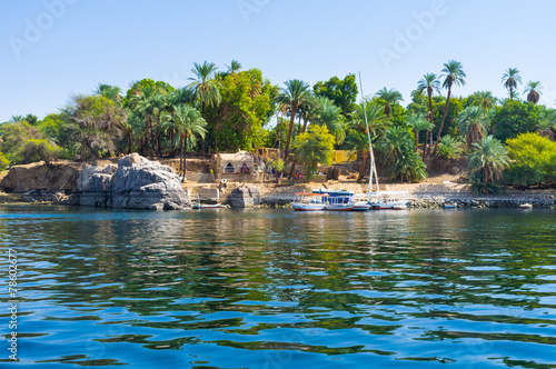 The island in Nile - 78602677