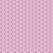 flower and geometrical ornament, pink