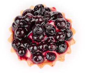 Fresh fruit pie tart
