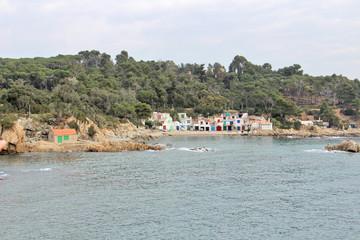 Costa de Palamós. Girona. Costa Brava.