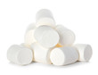 Marshmallow isolated on white background - 78603219