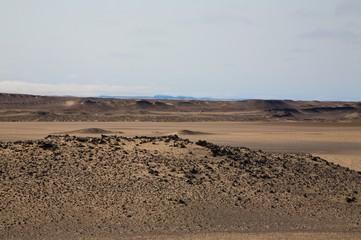 Paesaggio lunare in Namibia