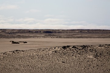 Lunar landcape in Namibia