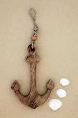 Anchor and Seashells