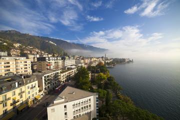 Svizzera,Montreux e lago Lemano.
