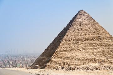 Aegypten, Giseh, Cheops- und Chephrenpyramide