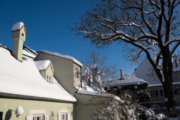 München-Haidhausen im Schnee Januar 2015 (2)