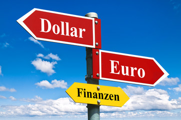 Dollar oder Euro
