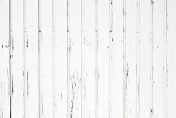 Metal doors painted white