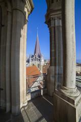 Losanna,la Cattedrale.