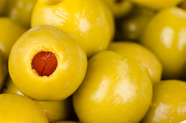 Pepper olives