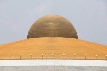 Wat Phra Dhammakaya. Buddhist temple in Bangkok, Thailand