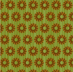 Natural, seamless pattern, retro style
