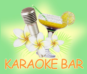 Microphone and cocktail