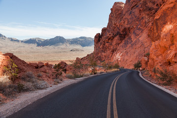 Highway USA Valley Of Fire
