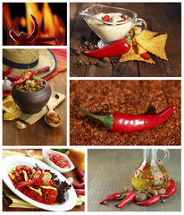 Food collage