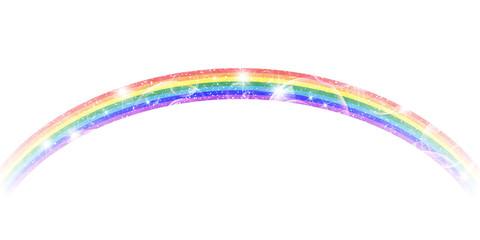 虹 カラフル 背景