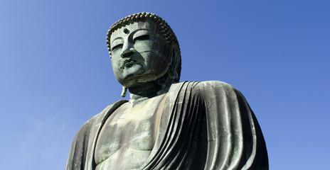 Daibutsu and Kamakura Sky