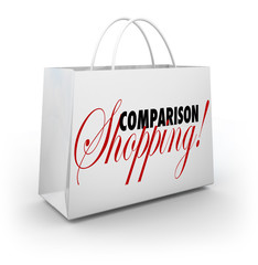 Comparison Shopping Bag Buy Merchandise Best Lowest Price