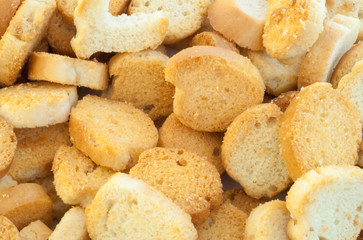 croutons of bread