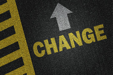 change on the road