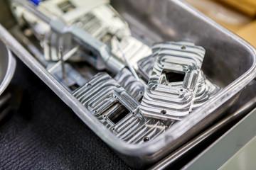 Alumimum part for machine