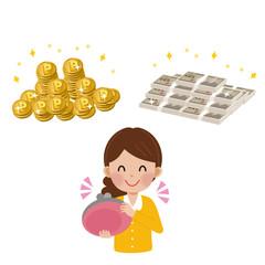 女性 アンケート お金
