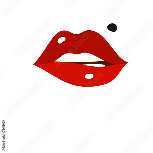 sexy lips - 78618009