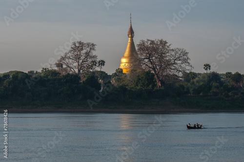 Papiers peints Autre Ayeyarwaddy river